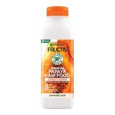 Garnier Fructis Hair Food Papaya balzam za oštećenu kosu, 350 ml