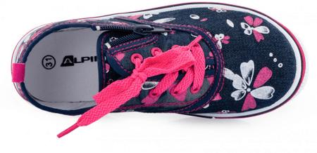 ALPINE PRO SAIRO dekliški čevlji, 31, roza/modri
