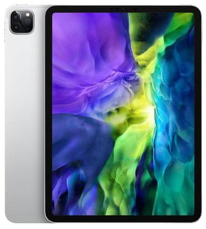 Apple iPad Pro 11 tablični računalnik, 512 GB, Wi-Fi, Silver (mxdf2hc/a)