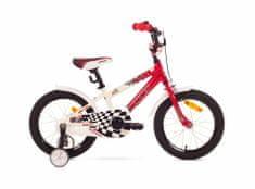 Romet Salto P 16 dječji bicikl, crveno-bijeli