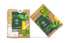 Manna Gruzínský premium Zelený čaj s mátou sypaný 70g