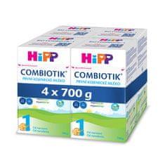 HiPP 1 BIO Combiotik Počiatočná mliečna dojčenská výživa 4x700 g