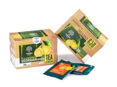 Manna Gruzínský Zelený čaj s citrónem - porcovaný 20ks