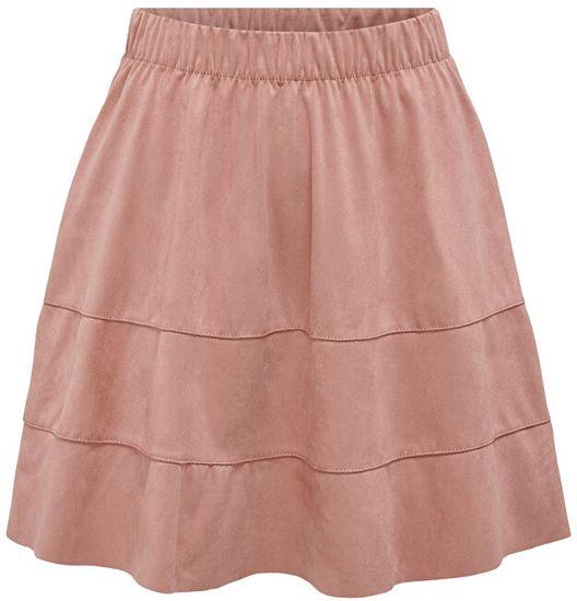 ONLY Dámska sukňa ONLCARMA faux SUEDE SKIRT OTW Noosa Burlwood (Veľkosť XS)