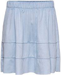 ONLY Dámska sukňa ONLCARMA faux SUEDE SKIRT OTW Noosa Cashmere Blue