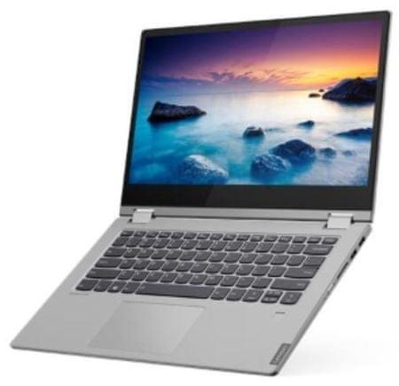 Lenovo IdeaPad C340-14, FHD, i5-10210U, 8GB, 256GB, W10, 2v1 prenosnik, srebrn (81TK0097SC)