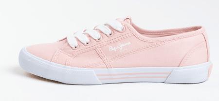 Pepe Jeans ženske tenisice Aberlady Eco PLS31016, 40, ružičaste