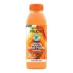 Garnier Fructis Hair Food Papaya šampon za oštećenu kosu, 350 ml