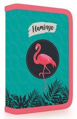 Karton P+P Flamingó emeletes iskolai tolltartó, töltött