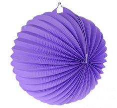 GoDan Lampión guľa - fialový, 25 cm