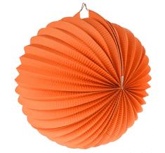 GoDan Lampión guľa - oranžový / 25 cm