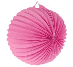 GoDan Lampion koule - růžový / 25 cm