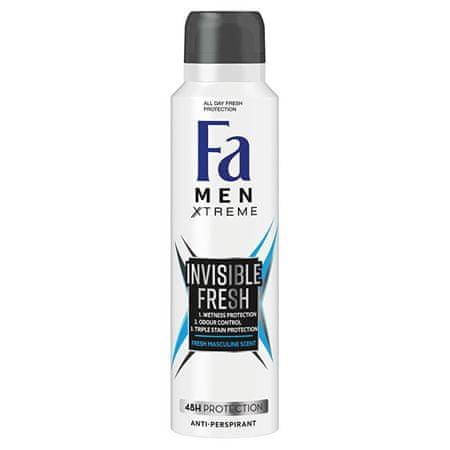 Fa Izzadásgátló Men Xtreme Invisible Fresh 48H Protection Anti-perspirant 150 ml