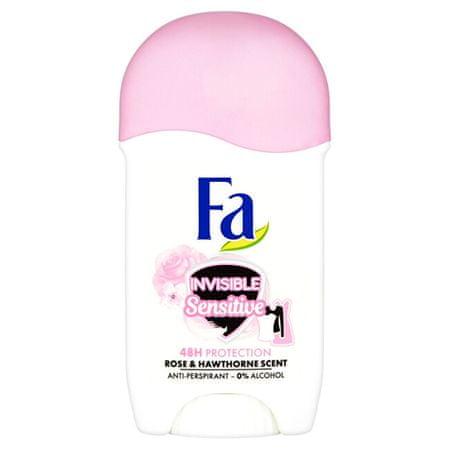 Fa Trden antiperspirant Invisible Sensitive Rose & Hawthorne (Anti-perspirant) 50 ml