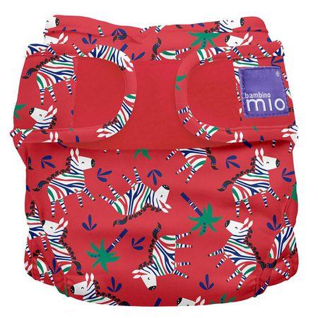 Bambinomio Miosoft hlače-pelene, 3-9 kg, Zebra Dazzle