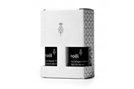 Noili Noili Light Travel Kit pro normální a mastnou pleť, 2x15ml