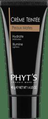 Phyt's Phyt's - Barvící denní krém - tmavý, Créme Teintée - Peaux Mates, 40g