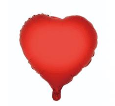 "GoDan Fóliový balón 18"" Červené srdce"