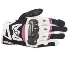 Alpinestars rukavice Stella SMX-2 Air Carbon black/white/fuchsia