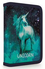 Karton P+P Egyszintes iskolai tolltartó, Unicorn 1, feltöltött
