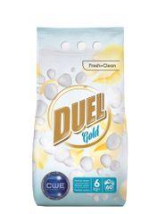 DUEL Gold Fresh + Clean pralni prašek, 6 kg
