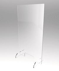 Plexi PMMA ochranné plexisklo na pult AP202006