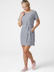 Helly Hansen bílo-modré pruhované šaty Thalia