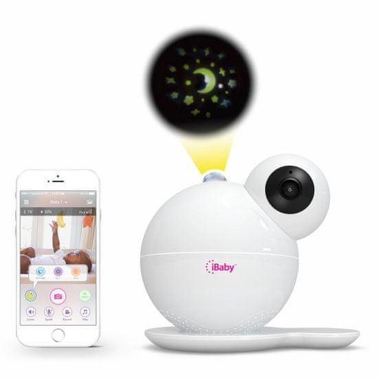 iBaby Care M7 video pestúnka, senzor kvality vzduchu, nočné svetlo