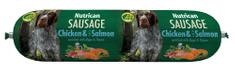 Nutrican Sausage Chicken & Salmon 12x800 g