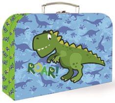 Karton P+P Bőrönd lamino, 25 cm, Dino