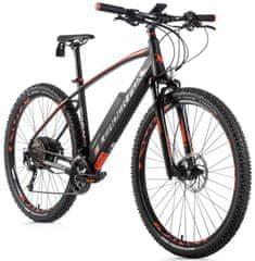 Leader Fox Swan MTB 29 električno kolo, 17,5, mat črna/oranžna