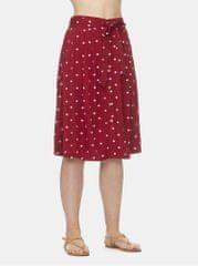 Ragwear červená puntíkovaná sukně Lejla Dots