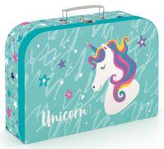 Karton P+P Bőrönd lamino, 25 cm, Egyszarvú