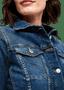 3 - s.Oliver dievčenská džínsová bunda 04.899.51.6087 34 tmavomodrá