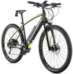 Leader Fox Swan MTB 29 električno kolo, 19,5, mat sivo/zeleno