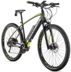 Leader Fox Swan MTB 29 električno kolo, 21,5, mat sivo/zeleno