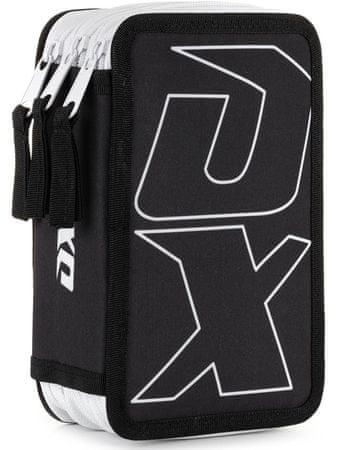Karton P+P piórnik 3-piętrowy OXY Sport BLACK LINE white
