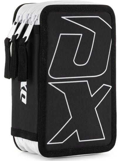 Karton P+P Penál 3 patrový OXY Sport BLACK LINE white
