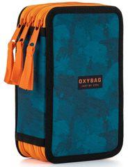 Karton P+P Penál 3 patrový OXY Style Camo blue