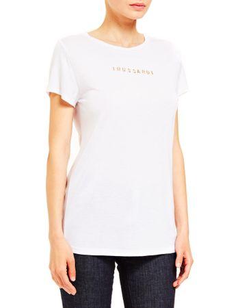 Trussardi Jeans 56T00242-1T003618 ženska majica, bela, XS