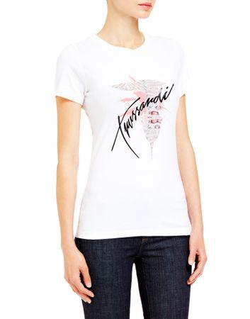 Trussardi Jeans 56T00256-1T003608 ženska majica, bela, XS
