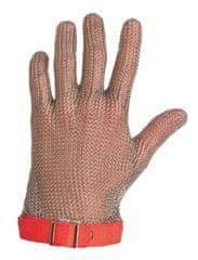 Bátmetall Kft. Oceľová obojručná rukavica Bátmetall 171310 bez manžety
