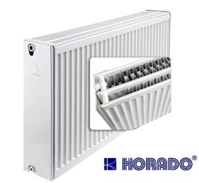 Korado Radiátor RADIK - R33/554/1100 (rekonstrukce - boční rozteč 500 mm) maximální výkon 2483 Wattů