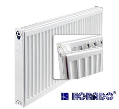 Korado Deskový radiátor KORADO Radik VK Pozink 21/900/800 (spodní připojení, pravé) maximální výkon 1403 Wattů