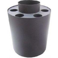 Morafis Teplovzdušný výměník 160, 500*320 odkouření (kouřovod) pro tuhá paliva