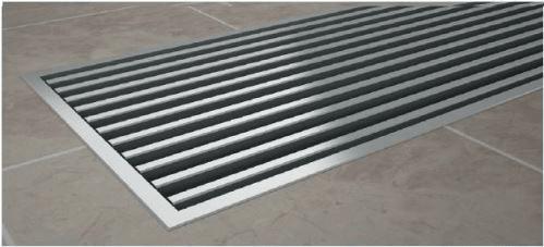 Korado Krycí mřížka KORAFLEX PM nerezová AISI 304 20x100 cm