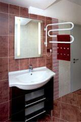 ELVL Elektrický sušák ručníků S60K 620x520x530, bílý, výkon 60 Wattů
