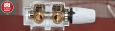 Korado Korado armatura HM pro vertikální provedení, rohová, bílá hlavice