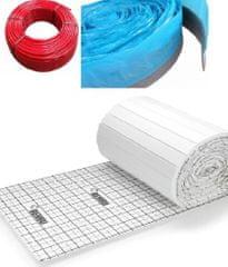 Herz Balíček kompletního systému podlahového vytápění HERZ PERT TAC pro plochu 42 m2