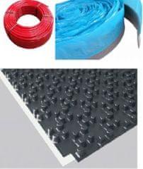 Herz Balíček kompletního systému podlahového vytápění HERZ PERT pro plochu 15 m2